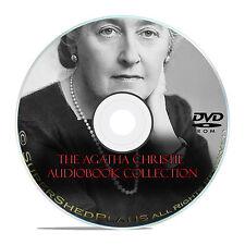 58 Agatha Christie Mystery Books, Murder Suspense, Thriller, Poirot, OTR DVD E92