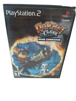 Ratchet Clank Going Commando Sony PlayStation 2 PS2 Complete Tested Working