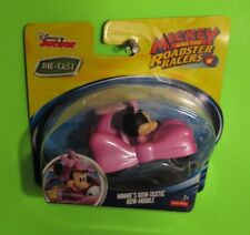 FISHER PRICE MICKEY AND THE ROADSTER RACERS MINNIE'S BOW-TASTIC BOW-MOBILE