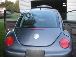 Rear Trunk Hatch Lid/glass 98-06 VW New Beetle dark grey Local Pickup LD7X COLOR