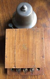 Original Antique Vintage Gent Electric Door Bell