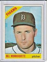 Bill Monbouquette 1966 Topps Baseball Card #429 (A)
