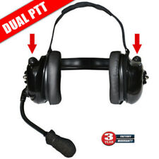 Titan Dual Comm High Noise Headset Replacement for Klein K-Cord and QD Adapters
