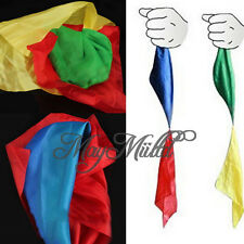 Selling Change Color Silk Scarf For Magic Trick Streets Joke Props Toys Gift CA