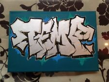 TEMP RJK (FR) graffiti sur toile -quik/taki/rd357/cope2/seen/pro176/zenoy/t-kid