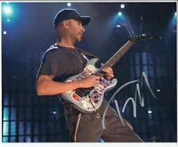 "Tom Morello Signed Autograph 8""x10"" Photo"