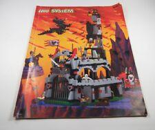 LEGO MANUAL DE INSTRUCCIONES N º 6097 CASTILLO DEL GRAFEN Murciélago CABALLERO
