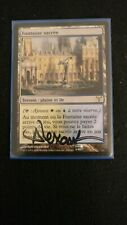 MTG Magic Dissension - Hallowed Fountain/Fontaine sacrée, French, signed
