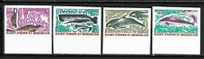 St. PIERRE & MIQUELON Sc 389-92 NH IMPERF ISSUE OF 1969 - SEA ANIMALS