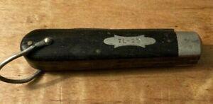 VINTAGE RARE REMINGTON TL-29 LINEMAN KNIFE ELECTRICIAN POCKET KNIFE