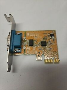 Dell Sunix DB9 Serial Port RS-232 PCIe PCI-E Int. Card 0NT0HM Low Profile