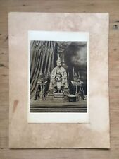 More details for antique coronation portrait of king vajiravudh, the 6th king of siam,king rama 6
