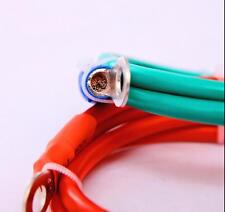 Welding Cable 6 AWG 1.8 feet Battery cable wire 200A True Copper Inverter Cable