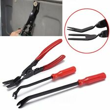 3 pcs Set Car Door Panel And Trim Clip Removal Pliers Upholstery Remover Tool