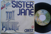 "Tai Phong / Sister Jane / Crest 7"" Single Vinyl 1975"