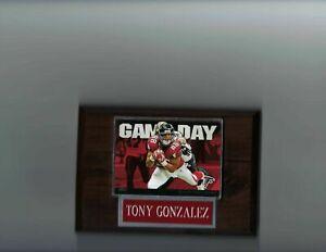 TONY GONZALEZ PLAQUE ATLANTA FALCONS FOOTBALL NFL   C