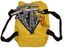 "PE-T9 Penetrator 9"" Alumimum Screw Anchor- Set of 12 w/ reusable storage bag"