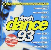 Various - Fresh Dance 93 (CD) (1993)