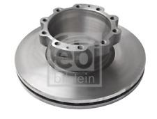 2x Bremsscheibe für Bremsanlage Hinterachse FEBI BILSTEIN 27224