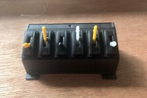 Peco Pecolectrics PL-27 switch console unit and 6 PL-26 switches. Very Nice