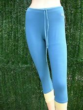 Corsaire, pantacourt, collant  de danse ou gymnastique GINADAN, bleu en M (1394)