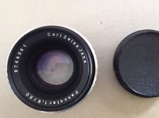 CARL ZEISS JENA f1.8 50mm Pancolar LENS, EXAKTA FIT. BEAUTIFUL VINTAGE LENS