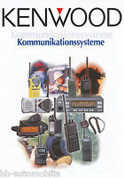 Kenwood Kommunikationssysteme Prospekt Funkgeräte 2004 Werbeprospekt brochure
