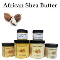 Raw African Shea Butter 100% Organic Unrefined From Ghana Pure 2 oz 4 oz 8 oz