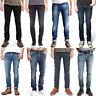 Nudie Herren Slim Fit Stretch Jeans Hose Thin Finn Blau Schwarz |B-Ware |NEU