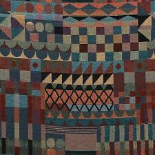 Art Deco Shapes Retro Abstract Tapestry Curtain Furnishing Upholstery Fabric