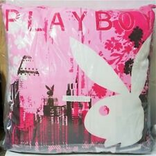 PLAYBOY CITY EURO PINK BUNNY PILLOW CUSHION BEDROOM HOME DECOR 60cm