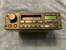 SAAB CLARION 0247007 AM/FM RADIO STEREO CASSETTE PLAYER PULL OUT TYPE NOT TESTED