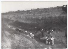 London;Digging A Cutting on The Bexley Heath Plateau, 1894 PPC, Unposted