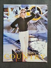 COUNTRY Collection 1996 Victoria's Secret Catalog REBECCA ROMIJN Tanya Fourie