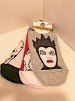 3 Paar Disney Villians Maleficent Socken Shoe Liners Sneaker socks knöchel