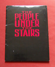 The People Under the Stairs - Production Notes / Press Kit / Stills - Wes Craven