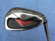 Wilson Di7 Sand Wedge - TX-105 FS Uniflex Steel ~USED~