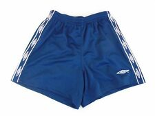 Umbro Blue Youths Extra Large Lined Sport Athletic Soccer Shorts