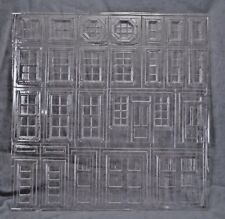 """Station Details Clear Sheet   molded styrene PRE1261 - 15""""x15"""" 1/24 G Scale"""