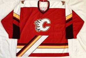 1997-98 Bauer St. John's Flames Away Replica Hockey Jersey Size XXL New w/ Tags