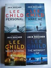 Lee Child ~ JACK REACHER 19-22 (Midnight Night Make Personal) LgePBs Combine