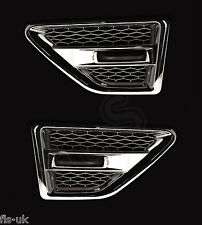 LAND ROVER FREELANDER 2 SIDE VENTS - CROME INC REPEATERS-SMOKED - FL2SV-C-BR