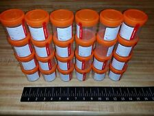 22 Sterile 90ml Specimen Jars Sealed Screw On Cap Paper Label 3oz Cups  CHB13903