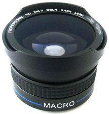 Fisheye Lens for JVC GZ-HD3U GZ-HD3US GZ-HD3EK GZ-HD3EX GZ-HD7U GZ-HD7E