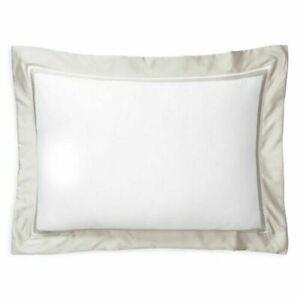 Ralph Lauren Bowery Vintage Silver Standard Pillow Sham retail $130