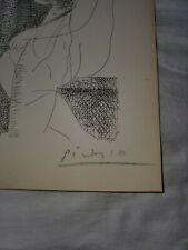 Picasso Vollard Suite Lithograph Hand Signed Original 1956 Nudes...
