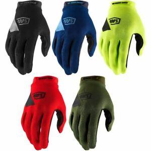 100% Ridecamp Gloves SP21 MTB Mountain Bike Full Finger DH Enduro Trail New