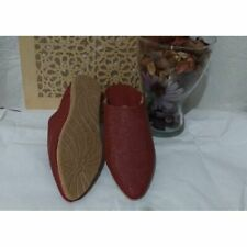 Moroccan leather slipper
