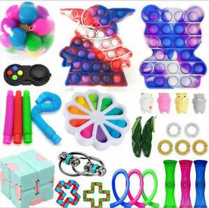 30 Figet Toys Anti Stress Toy Set Adults Kids Sensory Antistress Relief Toys