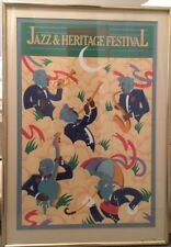 New Orleans Jazz and Heritage Festival Poster 1982 Framed